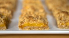 Thumbnail image for Peach Brown Butter Shortbread