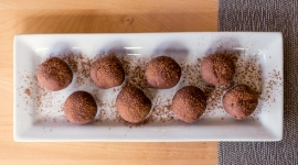 Thumbnail image for Raw Cacao Black Bean Truffles