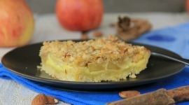 "Thumbnail image for Andrea's ""New"" German Apple Cake with Rahm Filling and Streusel"