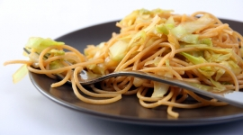 Thumbnail image for Asian Style Sweet Chili Spaghetti with Cabbage