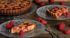 Thumbnail image for Brown Butter Raspberry Tart