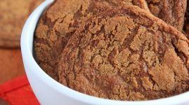 Thumbnail image for Brown Sugar Cookies with Ginger