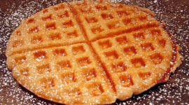 Thumbnail image for Cinnamon Waffels (German Style)