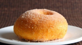 Thumbnail image for Cinnamon Baked Sweet Potato Doughnuts