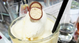 Thumbnail image for D Bar and a Vanilla Malt Shake