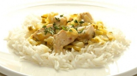 Thumbnail image for Dijon Mustard Chicken with Green Garlic