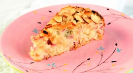 Thumbnail image for French Rhubarb Cake