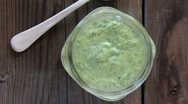 Thumbnail image for Fresh Kale Mayo on Coleslaw