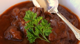 Thumbnail image for German Beef Goulash & Winner of the Cookbook Tasting Colorado