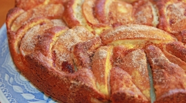 Thumbnail image for Celebrating My Blog's 1st Anniversary with a German Marzipan Apple Cake