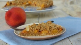 Thumbnail image for German Peach Streusel Cake (glutenfree)