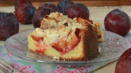 Thumbnail image for German Plum Cake with Streusel