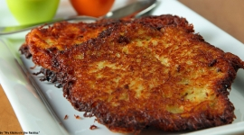 Thumbnail image for Grumbeerpannekuche/ German Potato Pancakes