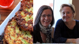 Thumbnail image for Guestspeaker Alice Waters and Potato Zucchini Pancakes