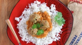 Thumbnail image for Harissa Spice Mix Meatballs with Cilantro