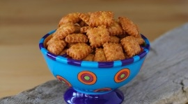 Thumbnail image for United in Orange – Homemade Organic Cheeze Its – Go Broncos!