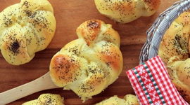 Thumbnail image for Kaiserrolls with Poppy Seeds – Mohnbrötchen