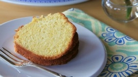 Thumbnail image for Lemon-Cornmeal Pound Cake