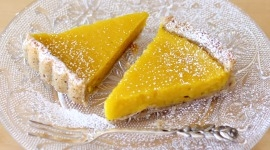 Thumbnail image for Meyer Lemon Hazelnut Tart