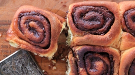 Thumbnail image for Nutella Buns (Rolls) with Pecans and Cinnamon
