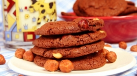Thumbnail image for Nutella Hazelnut Cookies