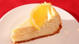 Thumbnail image for Orange Flavored New York Style Cheesecake