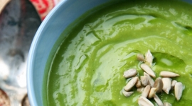 Thumbnail image for Organic Collard-Cauliflower Soup