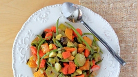 Thumbnail image for Lip Smacking Oven Roasted Winter Veggies