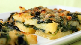 Thumbnail image for Potato and Spinach Gratin