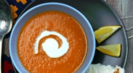 Thumbnail image for Red Lentil Soup Egyptian Style
