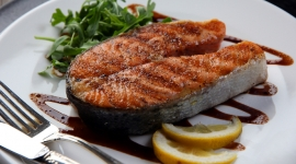 Thumbnail image for Salmon with Balsamic Glaze