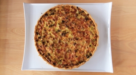 Thumbnail image for Savory Leek Quiche