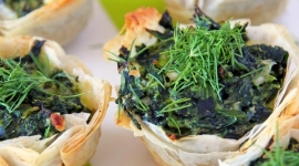Thumbnail image for Spanakopita Cups Appetizer Recipe