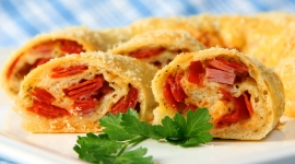 Thumbnail image for Stromboli with Salami, Pepperoni, Ham and Cheese