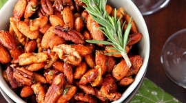 Thumbnail image for Sweet And Spicy Rosemary Nut Mixture