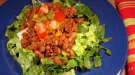 Thumbnail image for Taco Salad Navajo Style