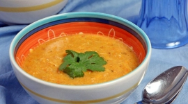 Thumbnail image for Thai flavored Butternut Squash and Crab Bisque