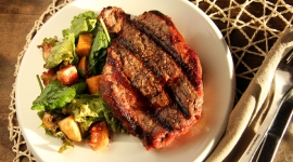 "Thumbnail image for The Perfect Grilled Rib Eye Steak and ""Where does your steak come from""?"