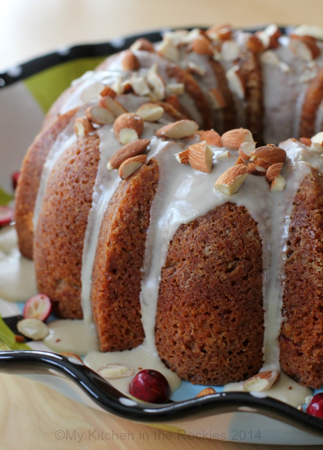 Bundt Cake with Chinese 5 Spice