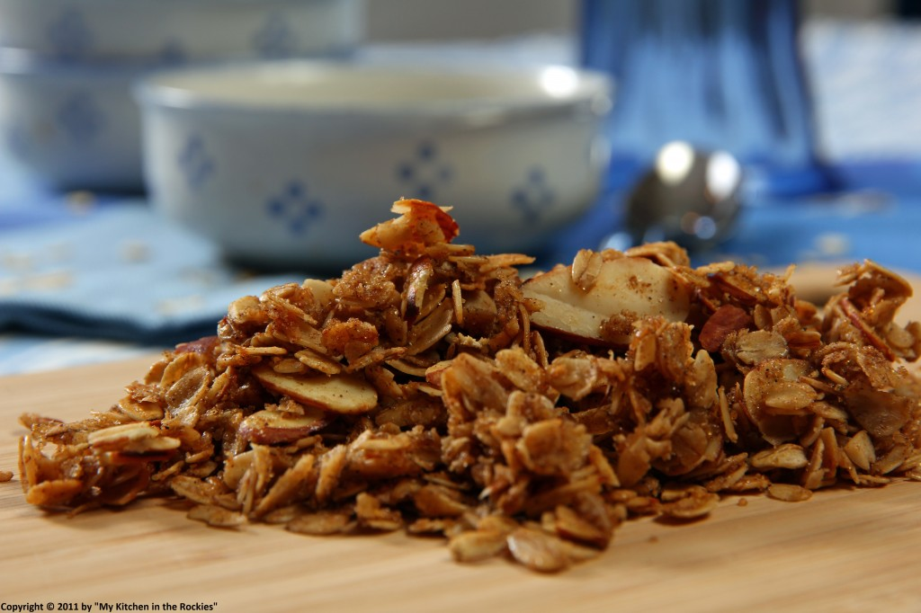 034 a 1024x682 Chai Scented Granola with Kefir and Blueberries