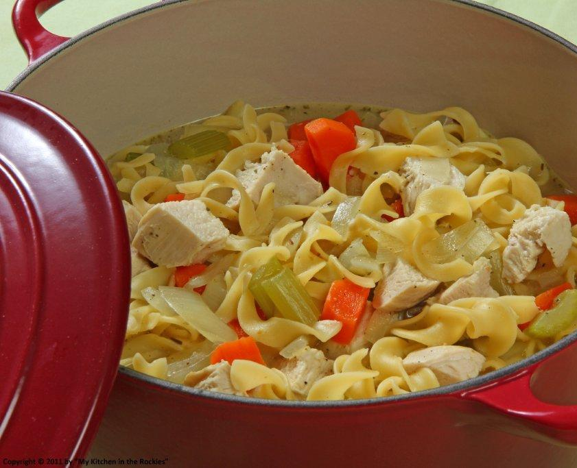 081 a 2 Chicken Noodle Soup