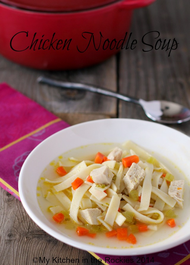 chicken noodle soup 2 Chicken Noodle Soup