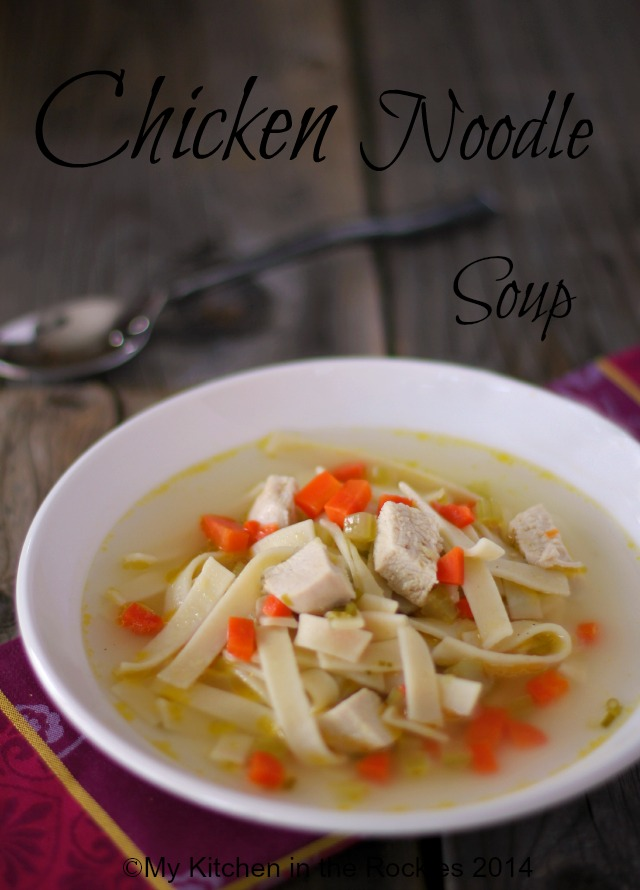 chicken noodle soup Chicken Noodle Soup