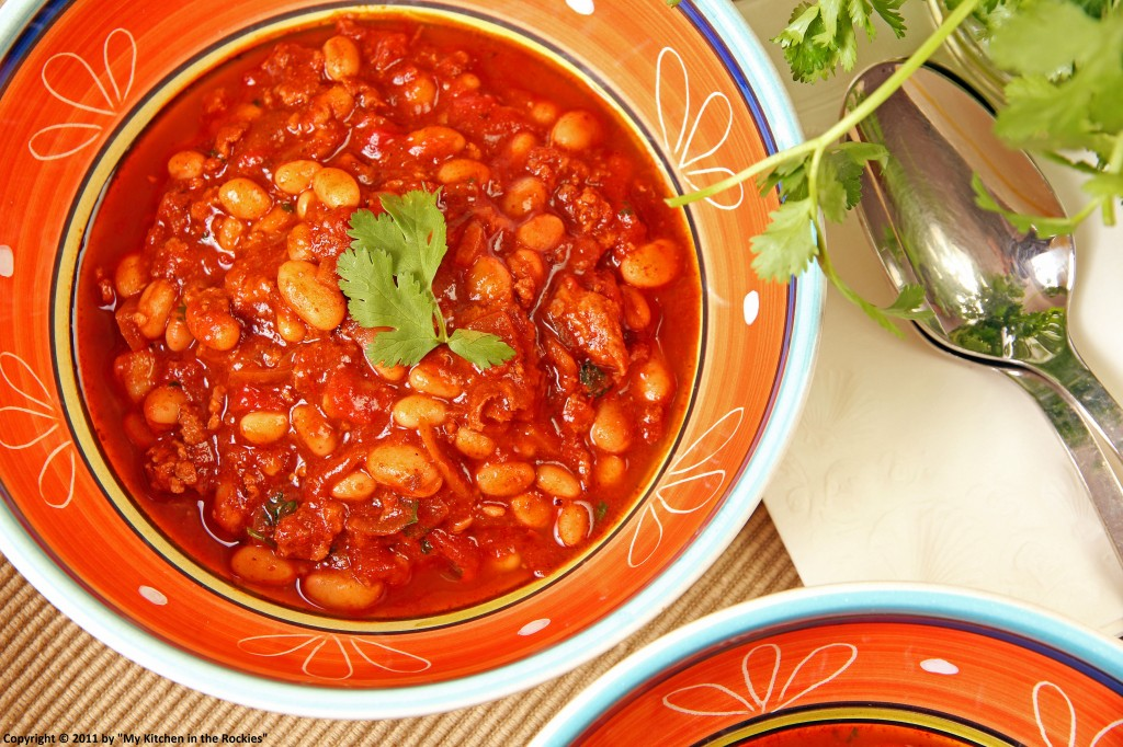 009 a 1024x682 Turkey Chili with White Beans