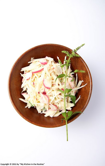006+a4 German Kohlrabi Apple Radish Salad