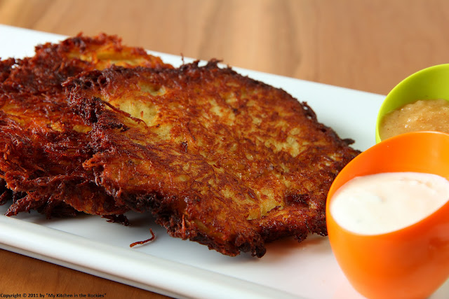 013+a Grumbeerpannekuche/ German Potato Pancakes