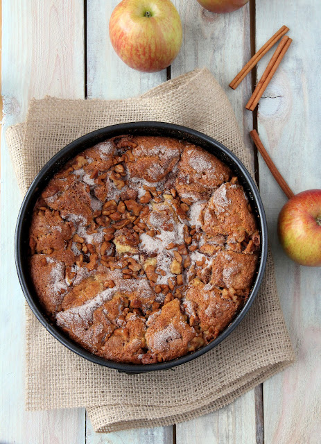 017+a1 Walnut Apple Cake (gluten free)
