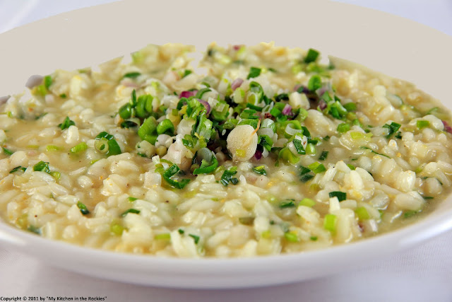 033+a1 Spring Garlic Risotto