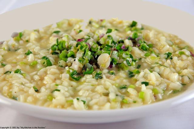 033+a1 Spring Garlic Risotto