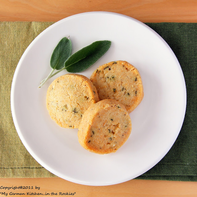 038+b 3. Sunday of Advent and Savory Sage Parmesan Sables